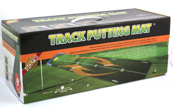Improve your putting Track Putting Mat 300x75 cm